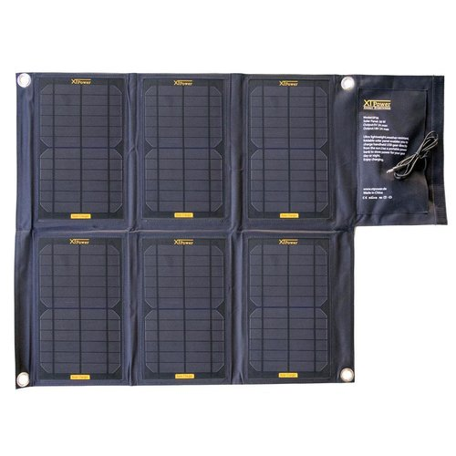 SP36 - Solar Panel with 36Watt - two outputs with DC round plug 18V 2A and USB 5V 2A