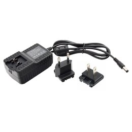 AC Charger for Power Bank with 16V 2A + EU & US Adapter