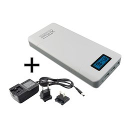 XT-16000QC3-PA PowerBank modern DC / USB battery with...