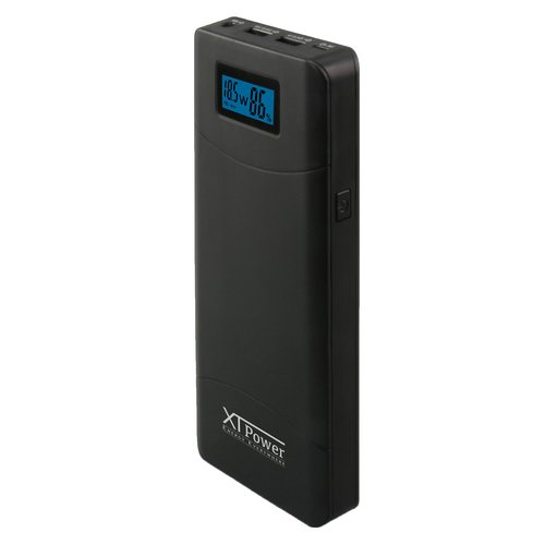 XT-20000QC3 PowerBank modern DC / USB battery with 20100mAh - 5V & 12V  to 24V