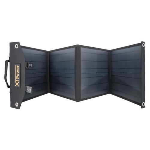 XTPower SP60 - Solar Panel with 60 watts - DC 18V 3A / 1x USB QC3 24W max. / 2x USB 2.0 5V 2.4A